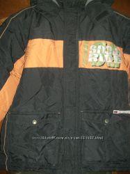 зимняя очень тёплая куртка на 13-14 лет 164см Дания