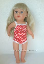 Купальники для кукол беби борн и Сестренки