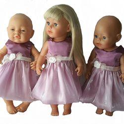 Бальное платье  Фея для кукол baby born