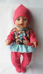 Одежда для baby born. Трикотажные человечки