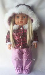 Зимняя одежда для куклы Старшая Сестренка  беби борн, в наличии