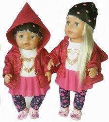 Гламурные костюмы для Старшей Сестренки и baby born