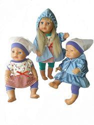 Морской набор для куклы беби борн, baby born