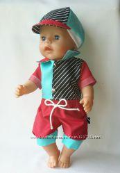 Одежда для мальчика baby born. Сейчас в наличии