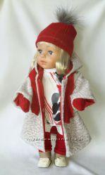 Зимний набор с шубой для кукол Сестренка Беби борн