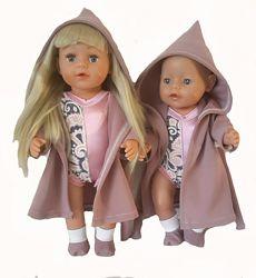 Халаты для кукол baby born и Старшая Сестренка