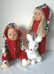 Новогодние наборы  для  Беби борн и Сестренки