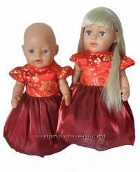 Фламенко платье для Сестренкии и Беби борн