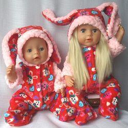 Кугуруми для кукол Беби борн и Старшей Сестренки много цветов