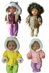 Зимняя одежда для кукол Беби бон и Старшей Сестренки