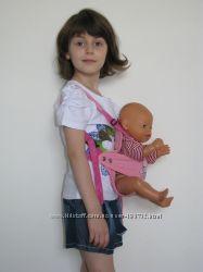 Кенгуру переноска для куклы. Есть в наличии