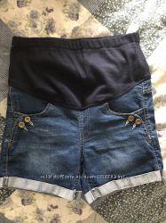 Джинс шорты для беременных