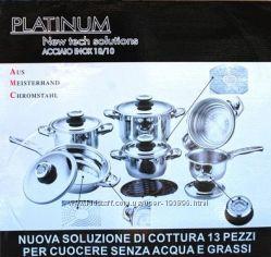 Набор посуды для готовки без масла и воды AMC Platinum