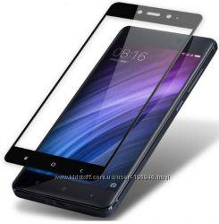 Защитное стекло Full Screen Xiaomi Redmi 4x Black