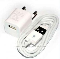 Зарядное устройство и Usb кабель для Ipod и iphone