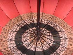 зонты 24 спицы  крепкий каркас