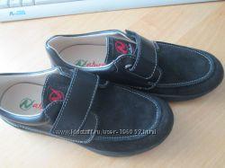 Замшевые туфли Naturino