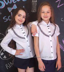 Блузка Школьная отличное качество