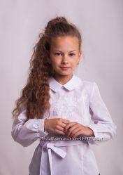 Блузка нарядная с вышивкой
