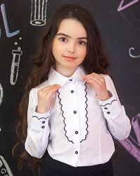 Школьные Блузки  Красивые