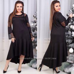 Платье  нарядное большего размера