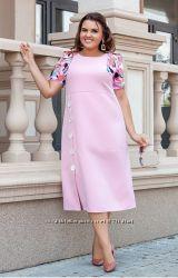 Нарядное платье большего размера 48-62 р.