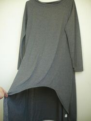 Женская туника рубашка удлиненная р.10-12