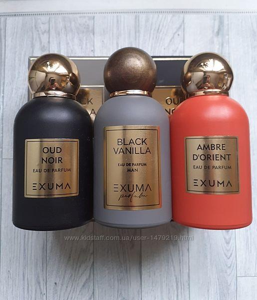 Распив Exuma Parfums ниша Black Vanilla, Ambre d&acuteOrient, Oud Noir