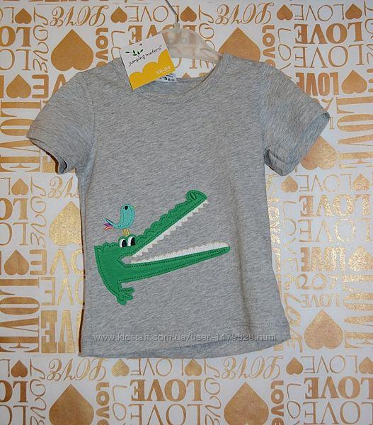 Новые футболки в ассортименте Jumping meters на рост 80, 86, 92, 98, 104