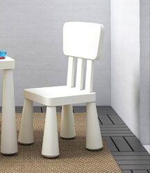 Cтул стульчик табурет табуретка дeтский Mammut, Маммут Икeа IKEA