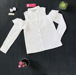 Нарядная блузка рубашка для девочки