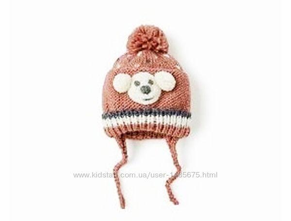 Симпатичная шапка для малыша