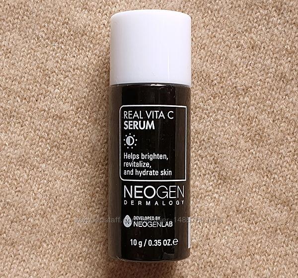 Ночная обновляющая и осветляющая сыворотка для лица Neogen с витамином С