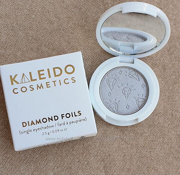 Тени для век Kaleido, серо-серебряный металлик
