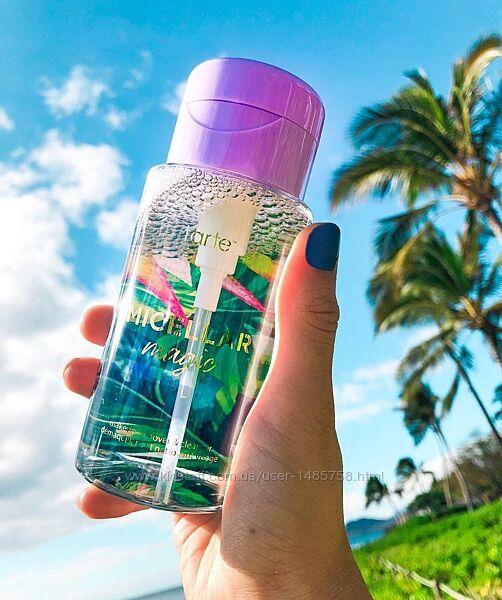 Мицеллярная вода Tarte для снятия стойкого макияжа и очищения лица