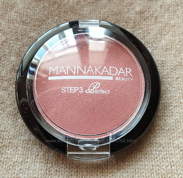 Румяна Manna Kadar бордово-розовые с сиянием