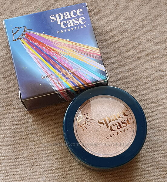 Хайлайтер Space Cosmetics, золотое сияние