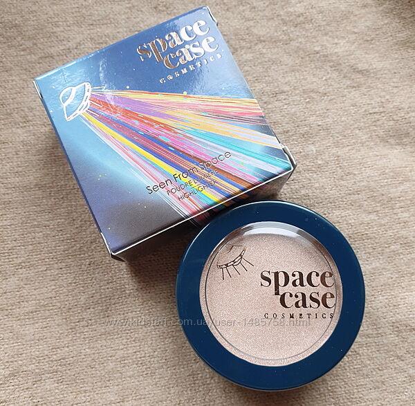 Хайлайтер Space Cosmetics, золотисто-жемчужный