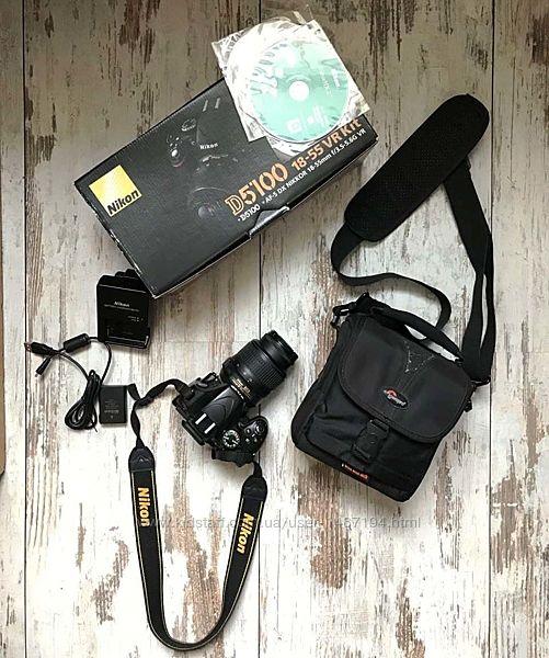Nikon D5100 зеркальный фотоаппарат Полный комплект
