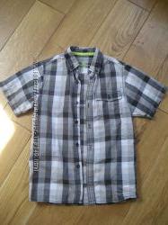 рубашка, тенниска на мальчика рост 134