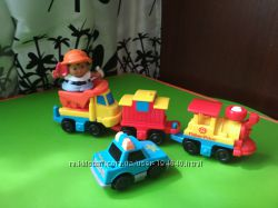 Поезд поїзд-конструктор Fisher-Price