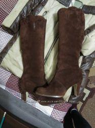 Замшеві зимові чоботи сапоги a70f2e4a4ebcc