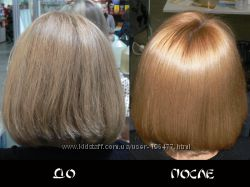 Японская профессиональная пятиэтапная процедура реконструкции волос