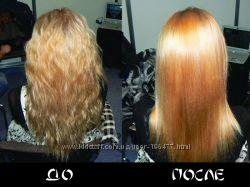 Японская профессиональная трёхэтапная процедура реконструкции волос