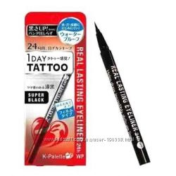 Профессиональная подводка для глаз k-palette 1 day tattoo