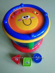 Музыкальный барабан Chicco в идеальном состоянии