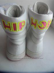 Высокие белые  скейтера Хипхопы