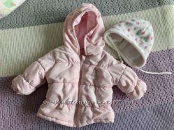 Демисезонная курточка Benetton на малышку 2-4 мес