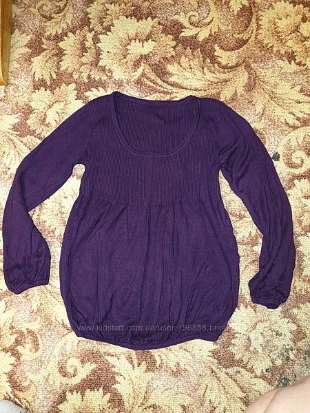 Легенький свитерок, туничка для беременной