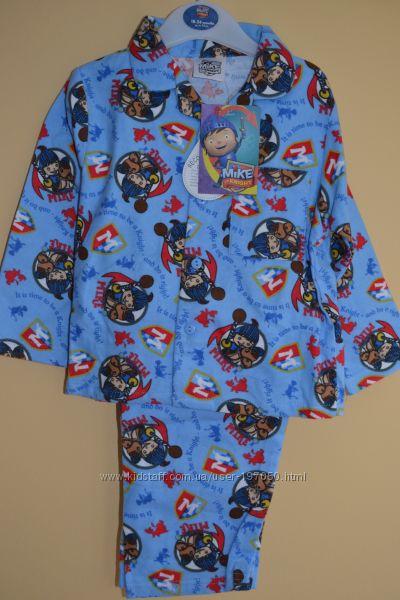 Тёплая пижама на мальчика 18-24 мес